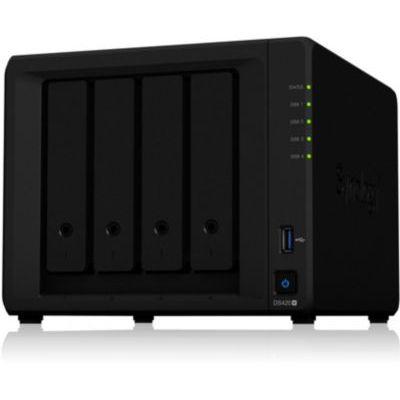 image Synology Serveur NAS 4 Baies DS-420+, sans Disque
