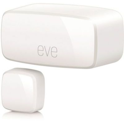 image Eve Door & Window - Capteur de Contact sans Fil, statistiques, Notifications, scénarios, sans passerelle intermédiaire, Bluetooth Low Energy (Apple HomeKit)