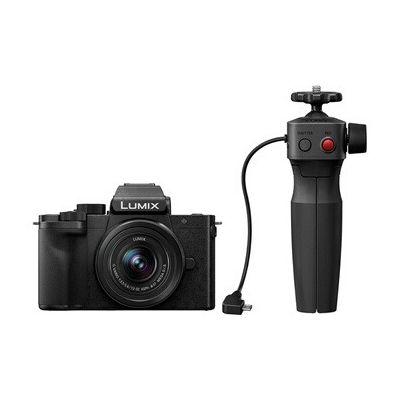 image Appareil photo hybride Panasonic G100 + Objectif G Vario 12-32 mm f/3.5-5.6 Asph. Mega O.I.S. + Poignée Vlog