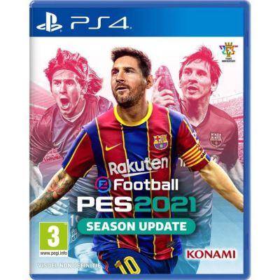 image Jeu eFootball PES 2021 sur Playstation 4 (PS4)