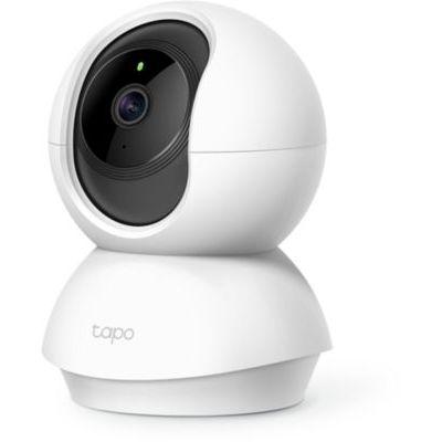 image TP-Link Caméra Surveillance WiFi, Tapo camera ip 1080P sans Fil avec Vision Nocturne Détection de Mouvement, Caméra Bébé avec Audio Bidirectionnel Pan/Tilt(Tapo C200)