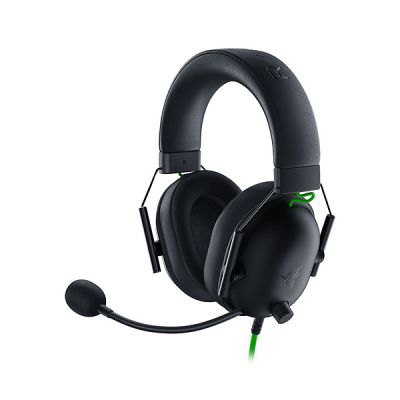 image Razer BlackShark V2 X - Casque De Jeu Esports Prime (Haut-parleurs en titane de 50 mm, Micro cardioïde, Annulation passive du bruit avancée pour PC, Mac, PS4, Xbox One et Switch)