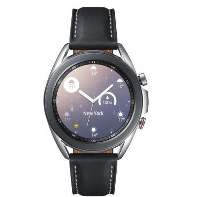image Samsung Galaxy Watch3 Montre connectée de 41 mm I LTE I Argenté I Acier