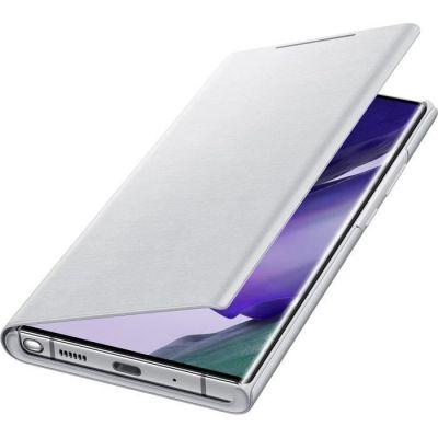 image Samsung Smart LED View Cover EF-NN985 - Protection à Rabat pour téléphone Portable - Blanc Mystique - pour Galaxy Note20 Ultra, Note20 Ultra 5G