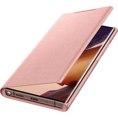 image Samsung Smart LED View Cover EF-NN985 - Protection à Rabat pour téléphone Portable - Bronze Mystique - pour Galaxy Note20 Ultra, Note20 Ultra 5G, Brun cuivre.