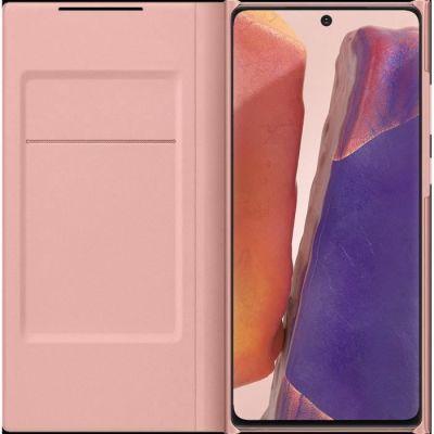 image Samsung Smart LED View Cover EF-NN980 - Protection à Rabat pour téléphone Portable - Bronze Mystique - pour Galaxy Note20, Note20 5G