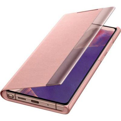 image Samsung Smart Clear View Cover EF-ZN980CAEGEU - Protection à Rabat pour téléphone Portable - Bronze Mystique - pour Galaxy Note20, Note20 5G Brun cuivre.