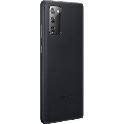 image SAMSUNG Leather Cover EF-VN980LBEGEU - Coque de Protection pour téléphone Portable - Cuir - Noir - pour Galaxy Note20, Note20 5G Brun cuivre. EF-VN980LBEGEU