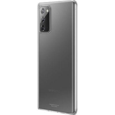 image SAMSUNG Coque pour Samsung Galaxy Note 20 Clear Cover Transparent EF-QN980TTEGEU