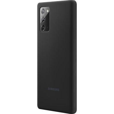 image Samsung Note20 Silicone Cover Black