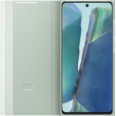 image Samsung Smart Clear View Cover EF-ZN980 - Protection à Rabat pour Téléphone Portable - Vert Mystique - pour Galaxy Note 20/Note 20 5G Menthe