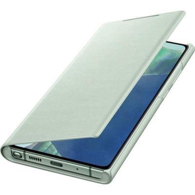 image Samsung Smart LED View Cover EF-NN980 - Protection à Rabat pour téléphone Portable - Vert Mystique - pour Galaxy Note20, Note20 5G