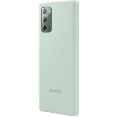 image Samsung Note20 Silicone Cover Green