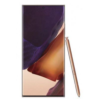 image Samsung Note 20 Ultra 5G Smartphone Portable Débloqué 256 Go Bronze Métallique