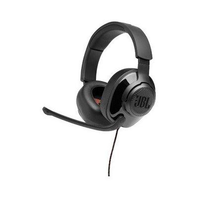 image JBL Quantum 200 – Casque gaming filaire avec son Signature Quantum JBL – Micro avec réduction de bruit ambiant – Compatible PC et consoles – Couleur : Noir