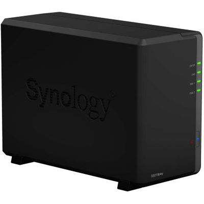 image Synology Serveur NAS ds218play (2 baies) sans disque, 1 Go