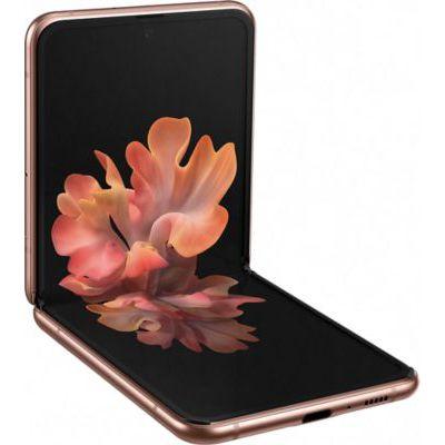 image Smartphone Samsung Z-Flip Marron 5G