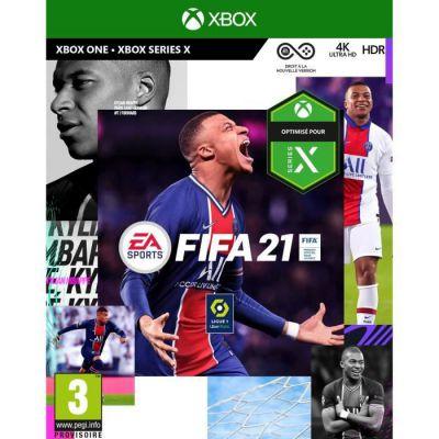 image Jeu FIFA 21 (Xbox One) - Version Xbox Series X incluse