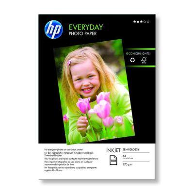 image Papier photo brillant HP Everyday - 100 feuilles/A4/210 x 297 mm (Q2510A)