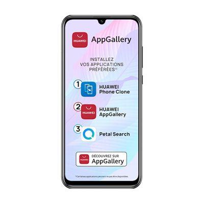 """image Huawei P smart S Smartphone (6.3"""", 4/128 Go, Double Nano SIM EMUI 10.1 & AppGallery), Triple Caméra avec Capteur Principal de 48MP, Noir [Version Française]"""