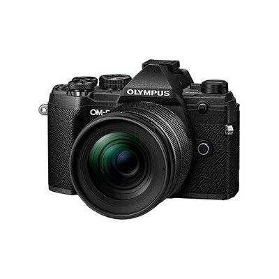 image Olympus Om-D E-M5 Mark III Micro Quatre Tiers Kit, 20 MP, Stabilisation 5 Axes, AF Puissant, viseur éléctronique OLED, 4K Video, Wi-FI, Argent INCL. 12-45mm M.Zuiko Pro, Noir