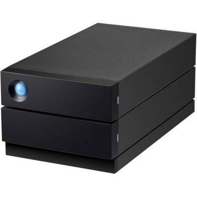 image LaCie 2big RAID 4 To, disque dur externe de bureau HDD, Thunderbolt 3 USB-C USB 3.0, 7 200 tr/min, disques d'entreprise, pour ordinateurs de bureau Mac et PC, redondance des données (STHJ4000800)
