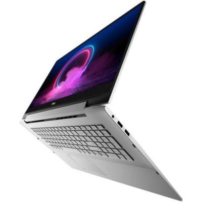 "image Dell Inspiron 17 2-en-1 7791 Ordinateur Portable Tactile Convertible 17,3"" Full HD Silver (Intel Core i7, 16Go de RAM, SSD 512Go, NVIDIA GeForce MX250 2Go, Windows 10 Home) Clavier AZERTY Français"