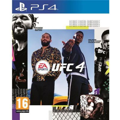 image Jeu UFC 4  sur Playstation 4 (PS4)