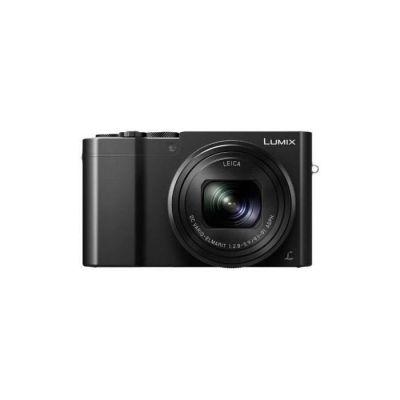 image Panasonic Lumix Appareil Photo Compact Expert Zoom DMC-TZ100EFK (Grand capteur type 1 pouce 20 MP, Zoom LEICA 10x F2.8-5.9,   Viseur, Ecran tactile, Vidéo 4K, Stabilisé) Noir – Version Française