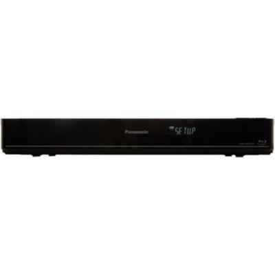 image Panasonic Lecteur Enregistreur Graveur Blu Ray Full HD 3D DMR-BWT850EC Double Tuner TNT HD, Disque Dur 1 to, Convertisseur 2K/4K UHD, High Res Sound, Design Compact - Version Française