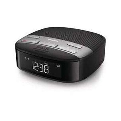 image Philips R3505/12 Radio-réveil, Radio DAB+ (Double alarme, Arrêt programmé, Forme compacte, Radio numérique DAB+/FM, Synchronisation automatique de l'heure, Batterie de secours) - Modèle 2020/2021