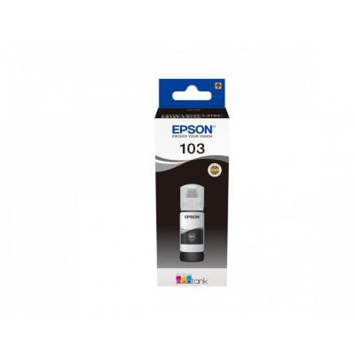 image Epson C13T00S14A10 encre noir 65 ml 4500 pages bouteille EcoTank 103