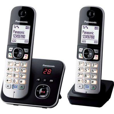 image Panasonic KX-TG6822 Téléphones Sans fil Répondeur Ecran [Version Française]