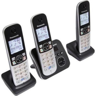 image Panasonic KX-TG6823 Téléphones sans Fil Répondeur Ecran [Version Française]