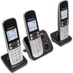 image produit Panasonic KX-TG6823 Téléphones sans Fil Répondeur Ecran [Version Française]