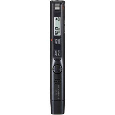 image Olympus VP-20 Enregistreur vocal stéréo de haute qualité avec microphone omnidirectionnel, filtre anti-bruit fonctionnement à une seule touche, prise pour micro/écouteurs, retardateur, mémoire de 8 Go
