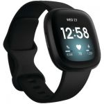 image produit Fitbit Versa 3 Black Smartwatch Unisex-Adult, Noir, One - livrable en France