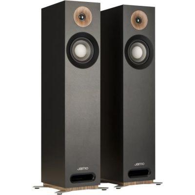 image Jamo S 805 B par 160W Noir Haut-Parleur - Hauts-parleurs (2.0 canaux, avec Fil, 160 W, 49-26000 Hz, 8 Ohm, Noir)