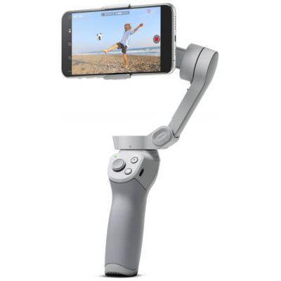 image DJI OM 4 - Stabilisateur 3 Axes pour Smartphone, Conception Magnétique, Portable et Pliable, DynamicZoom, CloneMe, Timelapse, Contrôle Gestuel, Mode Spin, Mode Story, Ralenti, Panorama