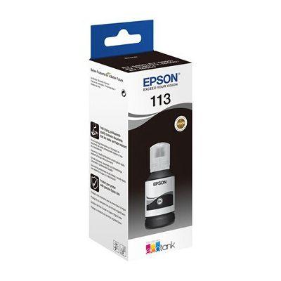 image Epson C13T06B140 Encre Noir 127 ML 7500 Pages Bouteille EcoTank 5800 pigmenté Normale