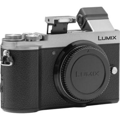 image Panasonic Lumix GX9   Appareil Photo Hybride Compact (Capteur 4/3 20MP, Double stabilisation, Viseur Inclinable, Écran inclin. tact., AF DFD, Vidéo 4K, Bluetooth & Wifi) Silver – Version Française