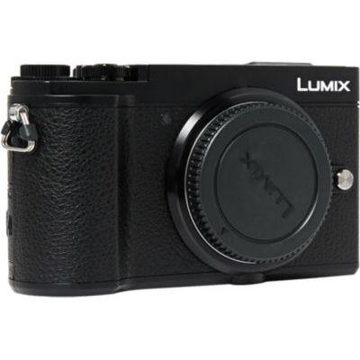 image Panasonic Lumix GX9   Appareil Photo Hybride Compact (Capteur 4/3 20MP, Double stabilisation, Viseur Inclinable, Écran inclin. tact., AF DFD, Vidéo 4K, Bluetooth & Wifi) Noir – Version Française
