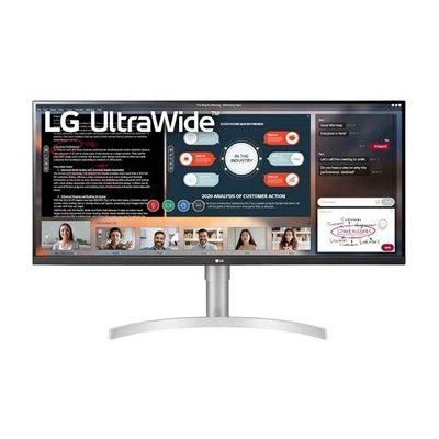 image LG UltraWide 34WN650-W, Moniteur 21:9e FHD IPS 34'' (2560x1080, 5ms, sRGB 99%, HDMI, Display Port, HDR 400, FreeSync, Hauts Parleurs, Ajustable Hauteur)