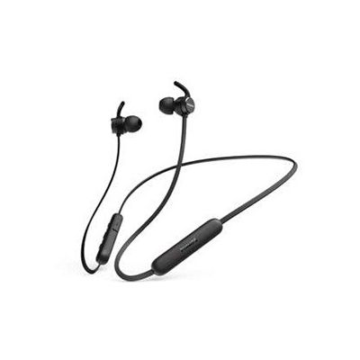 image Philips E1205BK/00 Écouteurs Bluetooth avec Micro, Écouteurs sans Fil (Télécommande, 7 Heures de Lecture, Protection Contre Les éclaboussures IPX4, Oreillettes magnétiques) Noir - Modèle 2020/2021