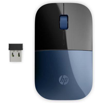 image HP Z3700 - Souris Sans Fil Bleu Lumière (USB, 1200 DPI, Ambidextre)