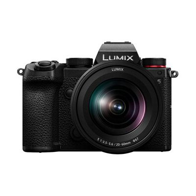 image Panasonic Lumix S5K | Appareil Photo Hybride Plein Format + Objectif Lumix S 20-60mm F3.5-5.6 (24MP, Vidéo 4K 4:2:2 10bit, Double Stabilisation, V-Log, Anamorphique, Tropicalisé) – Version Française