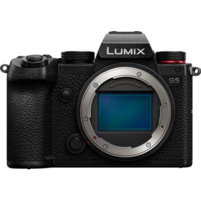image Panasonic Lumix S5 | Appareil Photo Hybride Plein Format (24MP, Vidéo 4K 4:2:2 10bit, Double Stabilisation, V-Log, Anamorphique, Compact, Tropicalisé) – Version Française