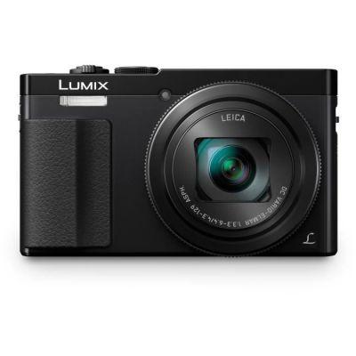 image Panasonic Lumix Appareil Photo Compact Zoom Puissant DMCTZ70EFK (Capteur 12MP, Zoom LEICA 30x F3.36.4, Grand angle 24mm, Viseur, Ecran LCD, Vidéo Full HD, Stabilisé) Noir - Version Française