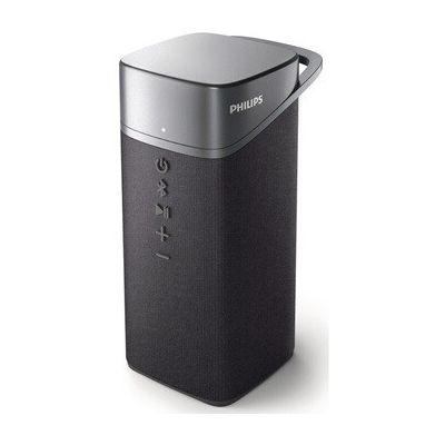 """image Philips Enceinte Bluetooth S3505/00 avec microphone (pilote Full Range 1,75"""", 10 heures d'autonomie, faisceau de basses passif, portée de 20 m) Gris - Modèle 2020/2021"""