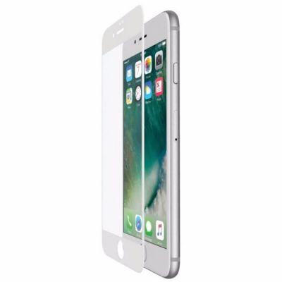 image Belkin - ScreenForce - Film de protection d'écran en verre tempé avec couverture bord à bord (edge to edge) pour iPhone 7+ et iPhone 8+, Blanc